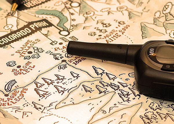 Быстрая прокладка маршрута на Яндекс.Картах.